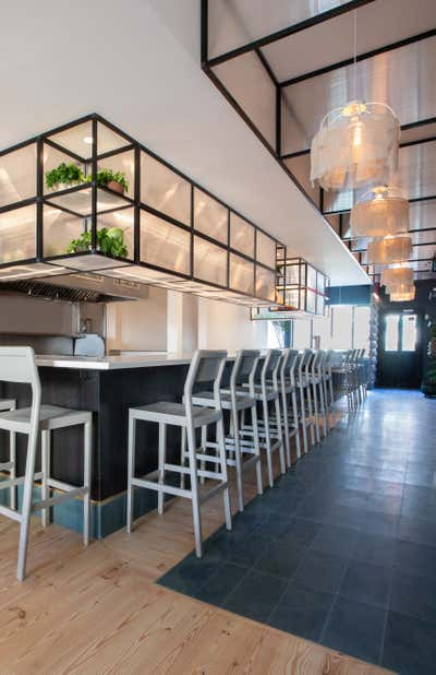 Modern Bar and Game Room. Bolero Restaurant  by Le Whit.