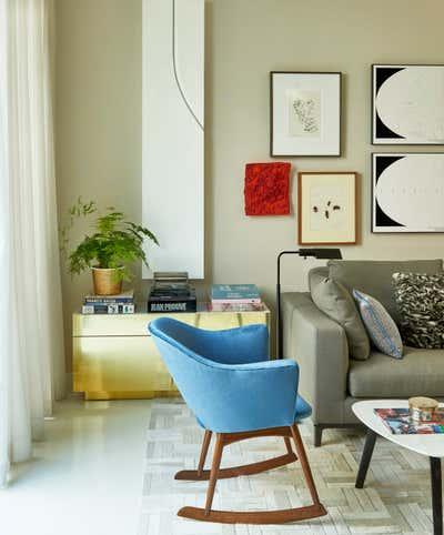 Modern Living Room. Williamsburg Townhouse by Meyer Davis.