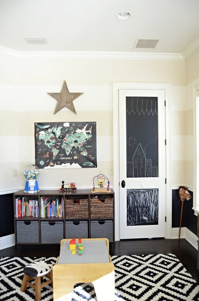 Evans Construction & Design - One Room Challenge - Playroom