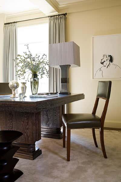 Transitional Living Room. City Apartment for Entertaining by Glenn Gissler Design.