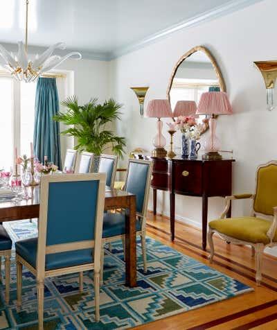 Hollywood Regency Dining Room. Detroit by Nicholas Obeid LLC.