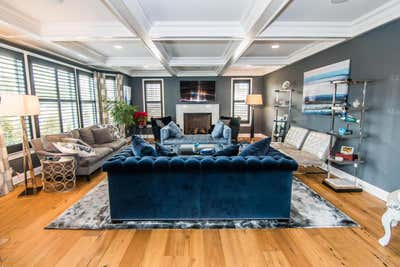 Transitional Living Room. NYC TO FLORIDA by Gary Weller Interior Design.