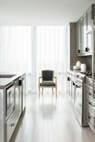 Modern Pantry. HIGH RISE RENOVATION by Jacob Laws Interior Design.