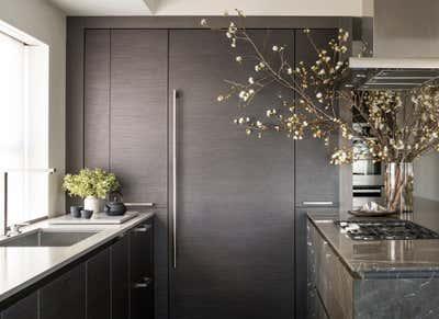 Contemporary Kitchen. PARK AVENUE / 65TH STREET by Capponi Studio LTD..