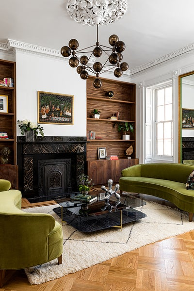 Ana Claudia Design - Jersey City Brownstone