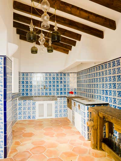 Rustic Pantry. Mallorca Villa by Godrich Interiors.