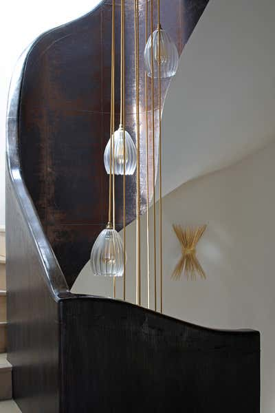 Art Deco Apartment Entry and Hall. West End Apartment by Shanade McAllister-Fisher Design.