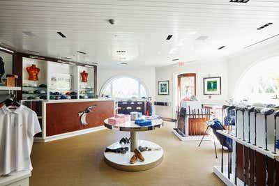 Transitional Entertainment/Cultural Open Plan. East Hampton Golf Club by Pembrooke & Ives.