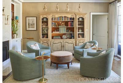 Traditional Living Room. Home with a View by Pickering House LLC.