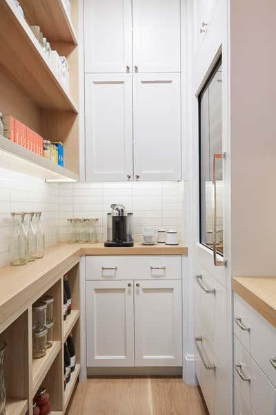 Contemporary Pantry. Southampton Residence by Ayromloo Design.