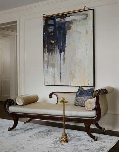 Art Deco Apartment Entry and Hall. Landmark Luxury by Soucie Horner, Ltd..