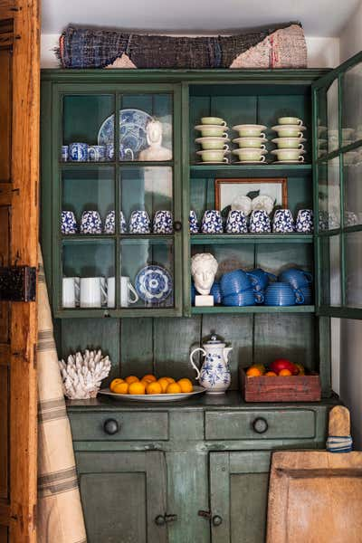 Country Pantry. Casa Bohemia by Sean Leffers Interiors.
