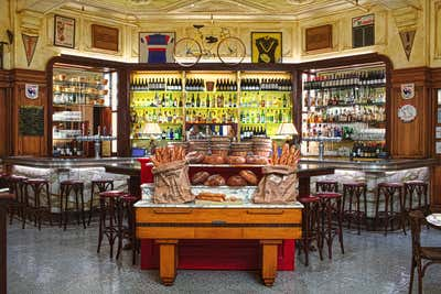 French Bar and Game Room. Le Diplomate, Washington DC by Shawn Hausman Design.