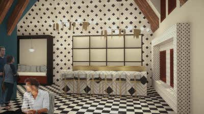 Maximalist Meeting Room. Amsterdam Boutique Hotel by Lundstrom Interiors.