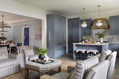 Transitional Family Home Open Plan. Pacific Palisades  by Cameron Design Group.