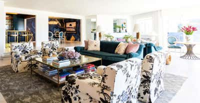Eclectic Living Room. Hollywood Hills by Cameron Design Group.