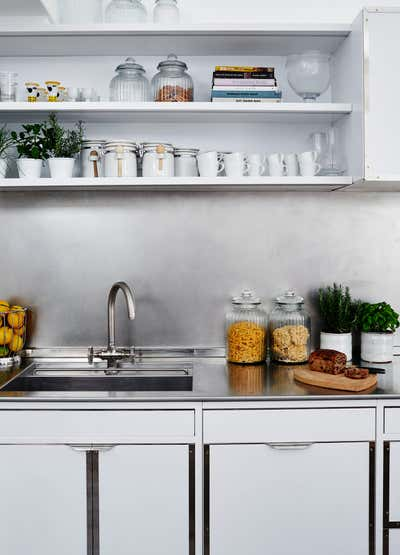 Contemporary Kitchen. Mews House by Alison Henry Design.