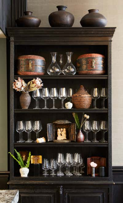 Asian Pantry. Pacifique by Sean Leffers Interiors.
