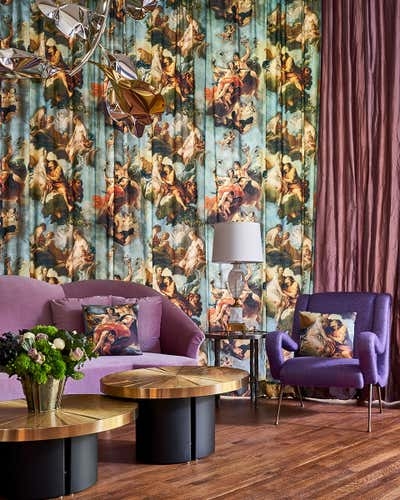 Entertainment/Cultural Office and Study. 2019 Holiday House Showhouse by Bennett Leifer Interiors.
