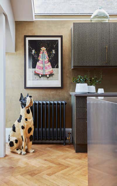 Eclectic Kitchen. West London Apartment by Violet & George.