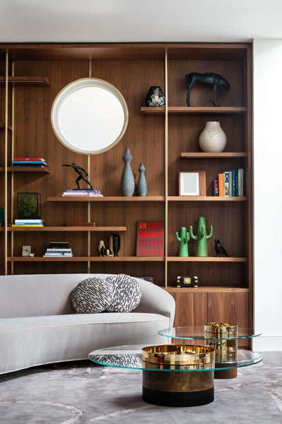 Eclectic Living Room. South West London Home by Shanade McAllister-Fisher Design.