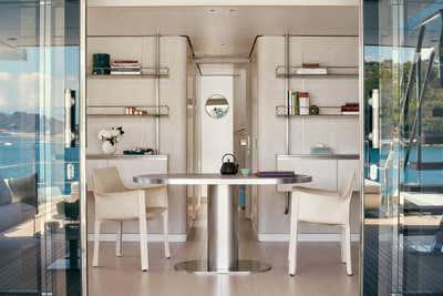 Transportation Patio and Deck. Exploration Yacht by Rafael de Cárdenas, Ltd..