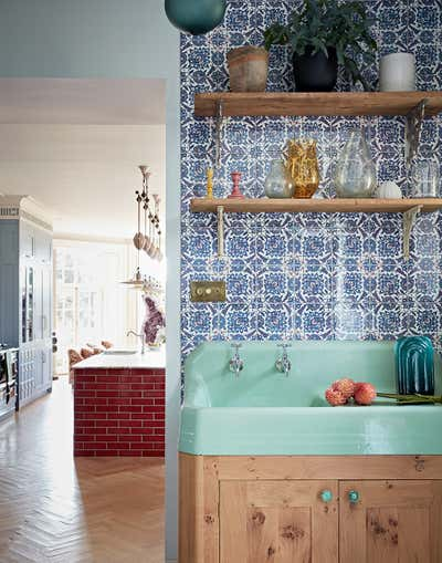 Bohemian Pantry. Hampshire Family Home by Godrich Interiors.