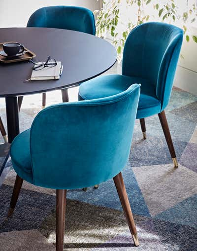 Contemporary Meeting Room. The Really Useful Group HQ, London by Godrich Interiors.