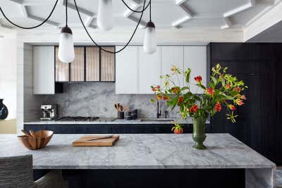 Contemporary Kitchen. Contemporary Tribeca 5 Bedroom Apartment by Kati Curtis Design.