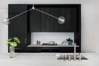Contemporary Kitchen. 32 East 1st, New York  by d s l v studio.