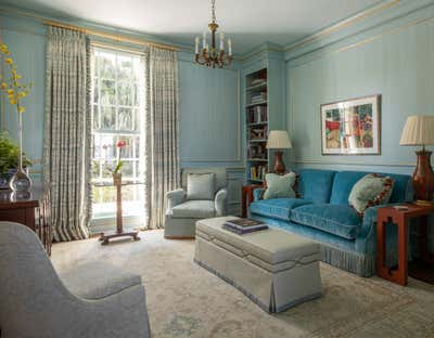 Traditional Office and Study. Palm Beach Estate by Solis Betancourt & Sherrill.