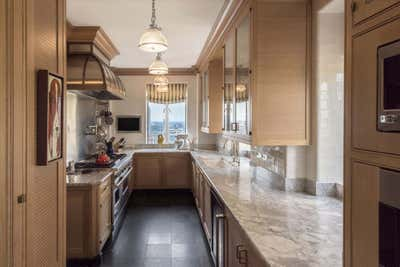 Traditional Kitchen. Central Park West Duplex by Robert Couturier, Inc..