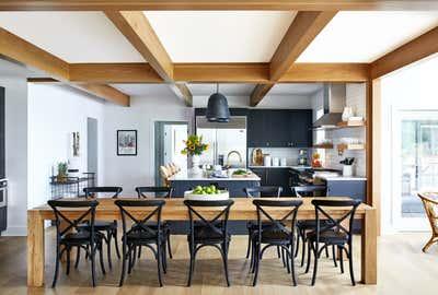 Coastal Kitchen. Eastern Shore Farmhouse by Zoe Feldman Design.