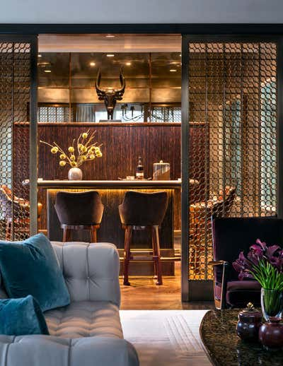 Transitional Bar and Game Room. Central Park West by Thad Hayes.