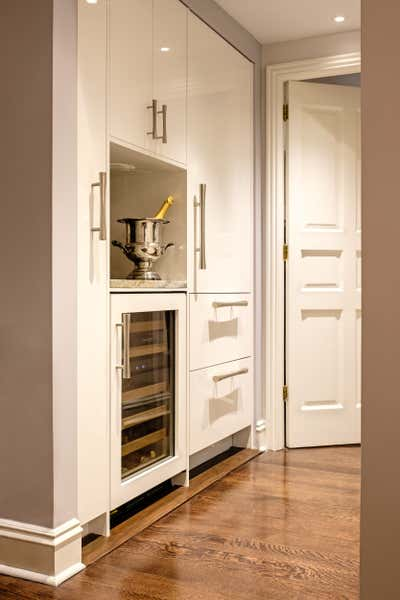 Eclectic Storage Room and Closet. New York View by Amathea Ltd.