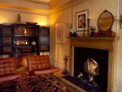 Eclectic Living Room. Cozy European Feel In The Heart Of New York by Amathea Ltd.