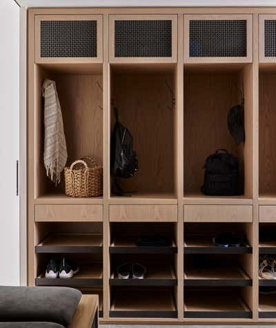 Contemporary Storage Room and Closet. Hill House  by Decus Interiors.