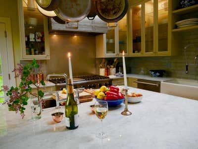 Eclectic Kitchen. Artist Studio by Kat Burki.