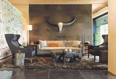 Country Meeting Room. Modern Retreat in Aspen by Kerry Joyce Associates, Inc..