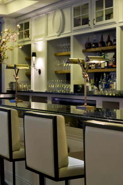 Transitional Bar and Game Room. Hospitality / Commercial by Darryl Carter Inc..