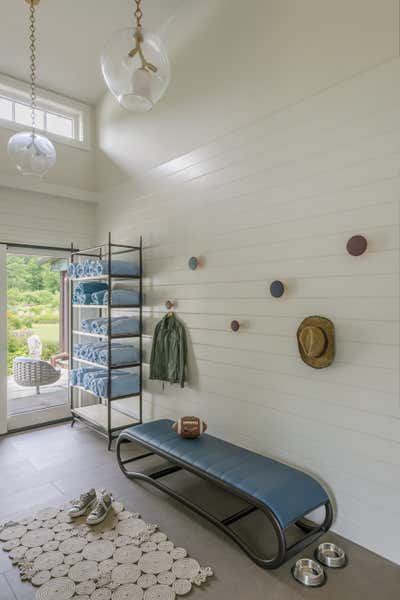Organic Storage Room and Closet. House in Kent by Eve Robinson Associates.