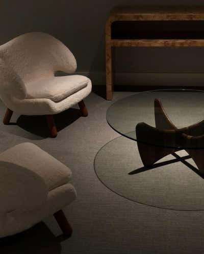 Modern Meeting Room. Project Doheny by Elisa Baran LLC.