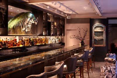 Hotel Bar and Game Room. Mandrake Hotel by Tala Fustok Studio.