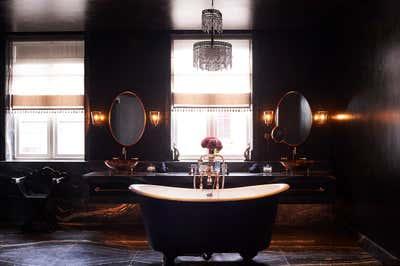 Hotel Bathroom. Mandrake Hotel by Tala Fustok Studio.