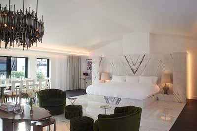 Hotel Bedroom. Mandrake Hotel by Tala Fustok Studio.