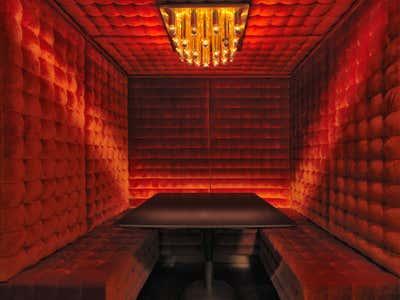 Hotel Dining Room. Mandrake Hotel by Tala Fustok Studio.