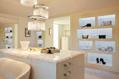 Contemporary Storage Room and Closet. T O W E R  /  R O A D by Connate Design.
