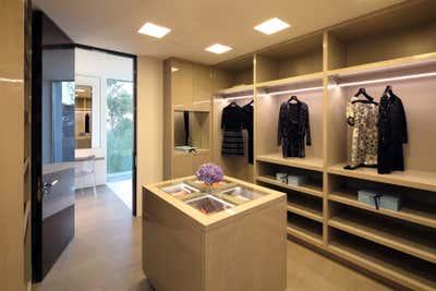 Contemporary Storage Room and Closet. A N G E L O  /  D R I V E by Connate Design.