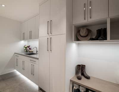 Modern Storage Room and Closet. Sunnyside Ridge by Forum Phi Interiors.