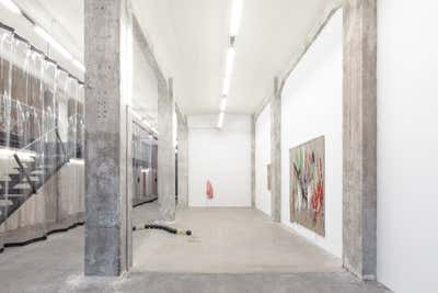 Entertainment/Cultural Open Plan. Obsidian Gallery by Midnight Green.
